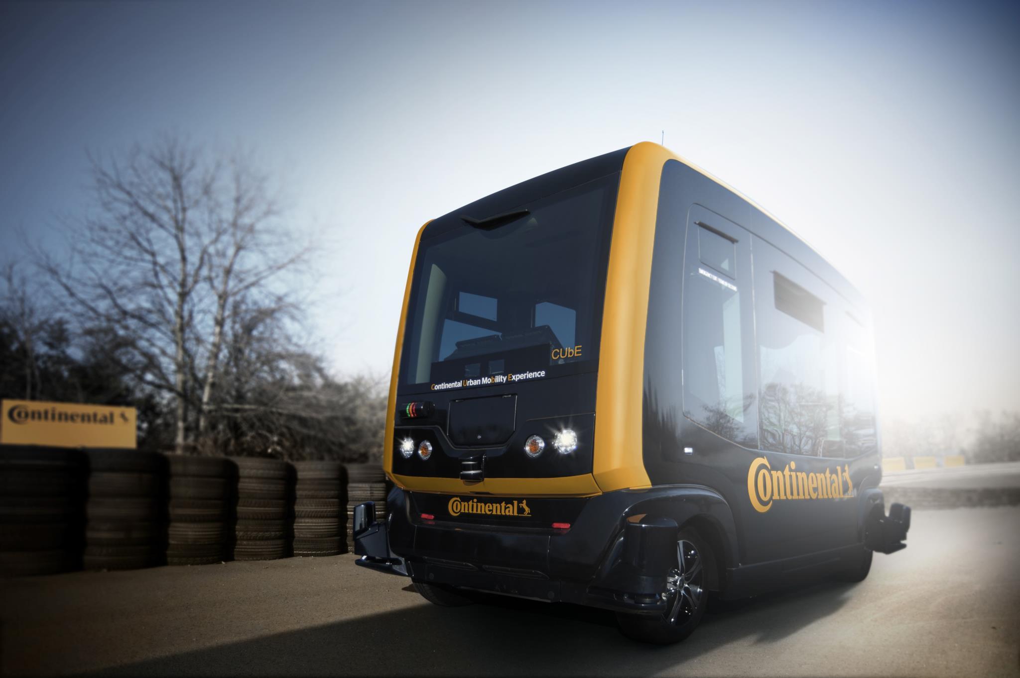 CUbE: minibus sem condutor