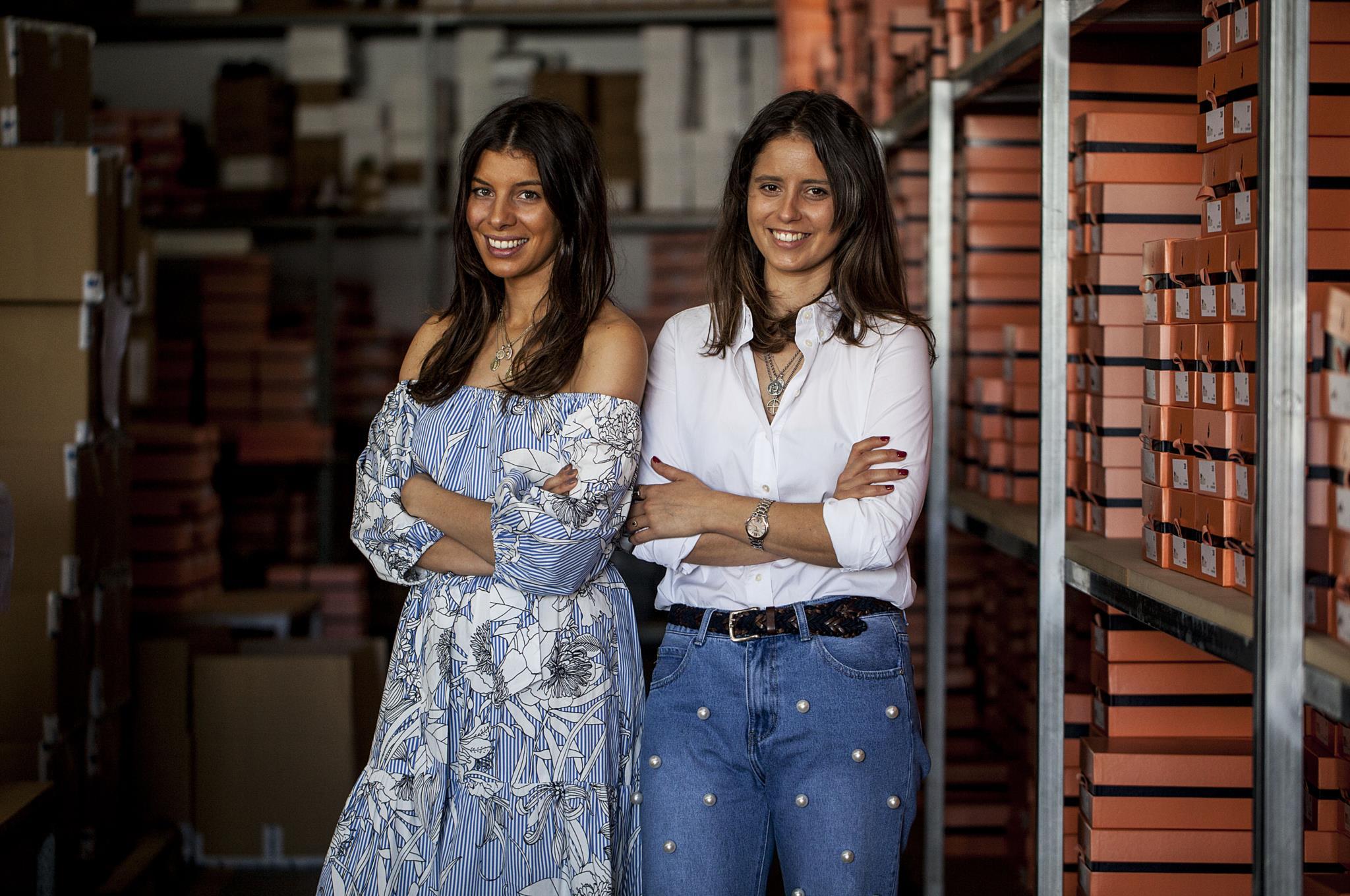As criadoras Alexandra Castro e Rute Marques