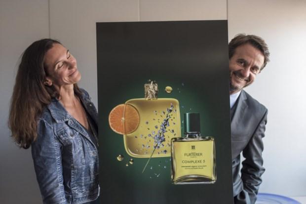 Corinne Bourgela, directora internacional de marketing, e Gilles Daure, diretor internacional da marca, vieram a Portugal, no 60.º aniversário da René Furterer