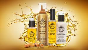 Produtos para cabelos da RICH retirados do mercado por terem substâncias proibidas