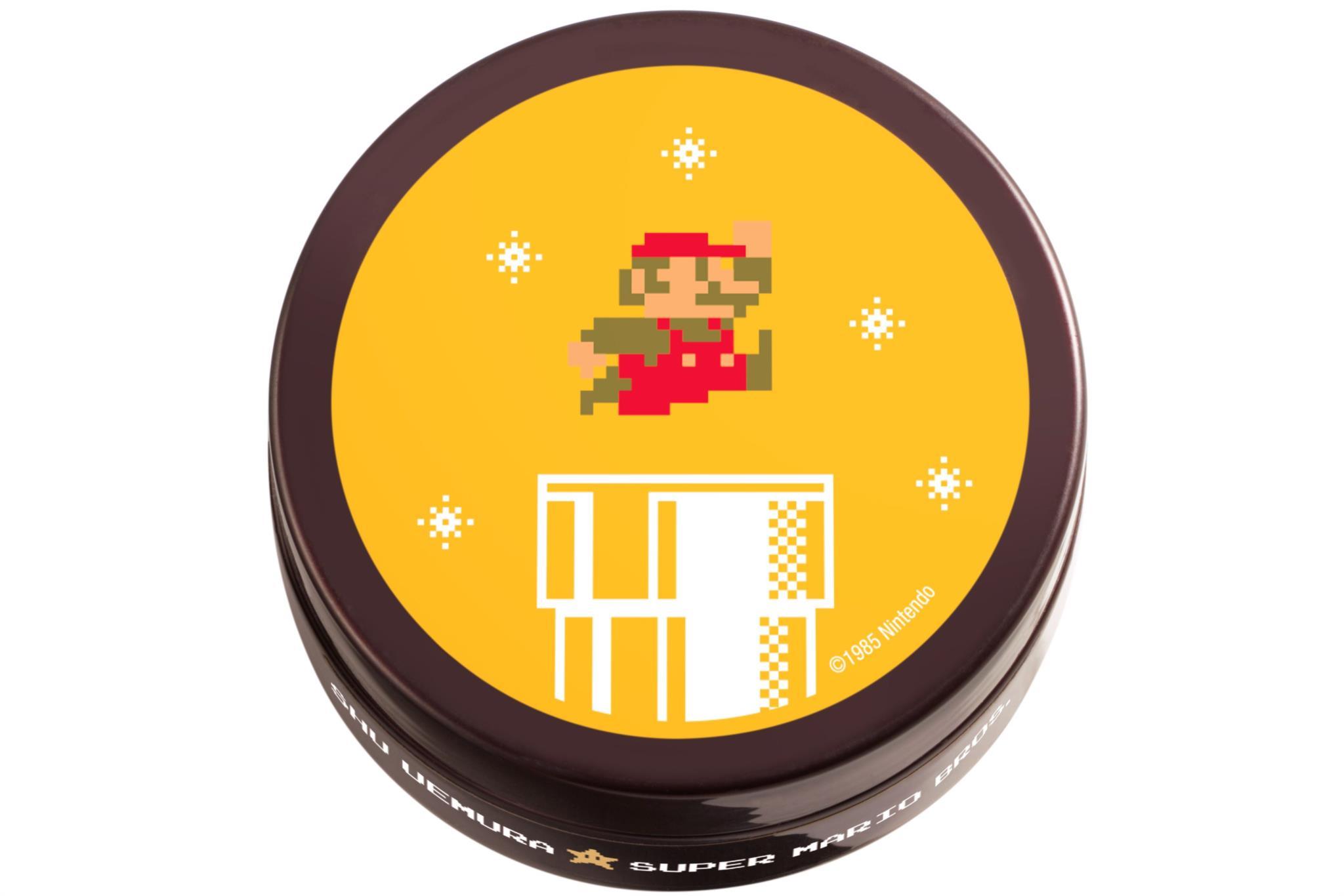 Super Mario entra no mundo da maquilhagem, com Shu Uemura