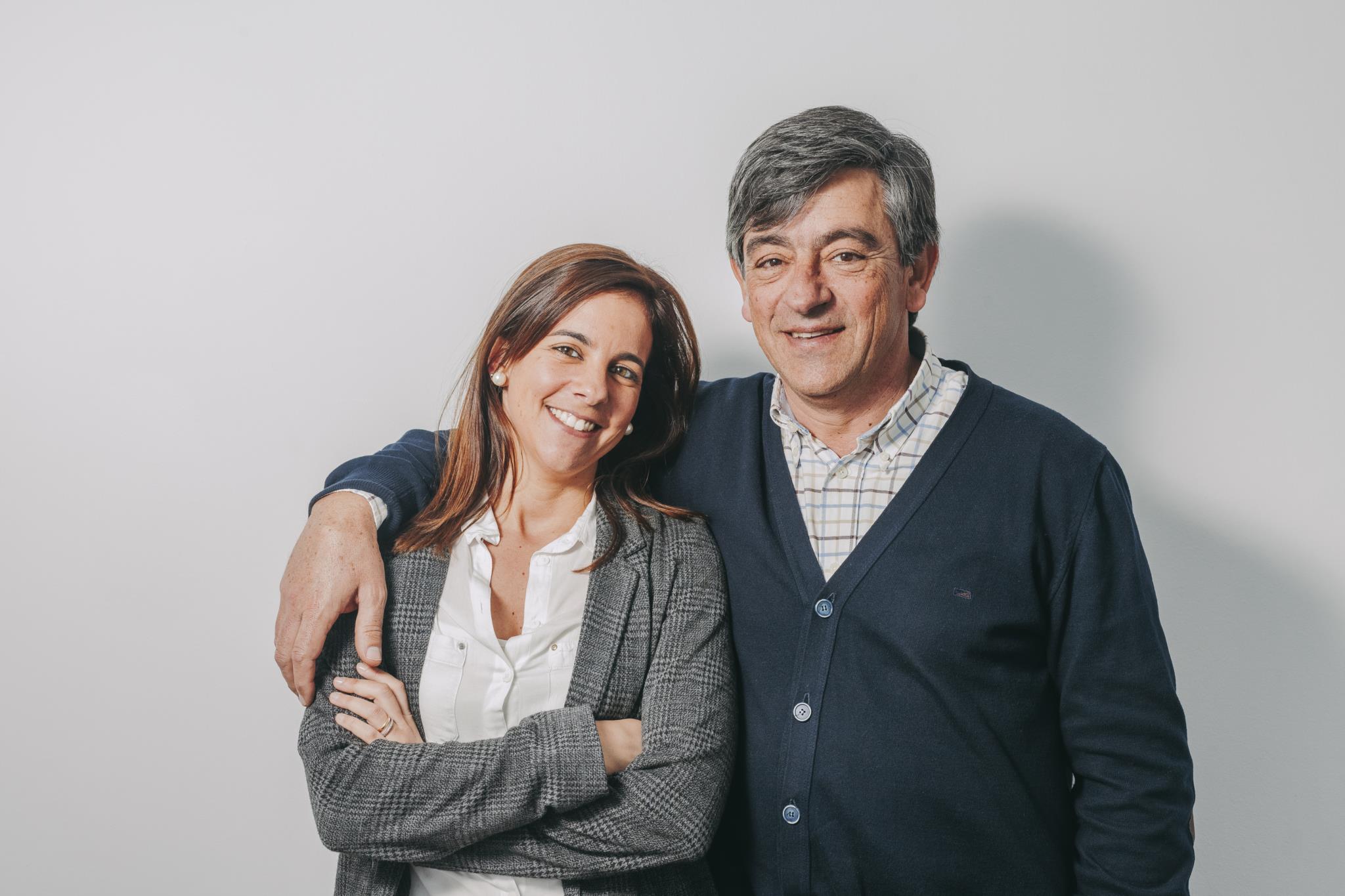 João M. Barbosa trabalha com a filha, Teresa