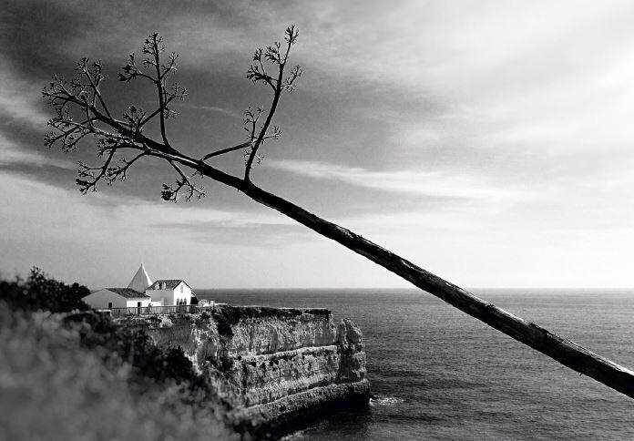 Algarve: Com imensas fotografias da Senhora da Rocha, Vítor decidiu apostar nessa paisagem, sua favorita, para concorrer ao Portugal sem Tripé, com o intuito de mostrar tudo aquilo a que aquele ícone da costa algarvia já sobreviveu, incluindo sismos e derrocadas.