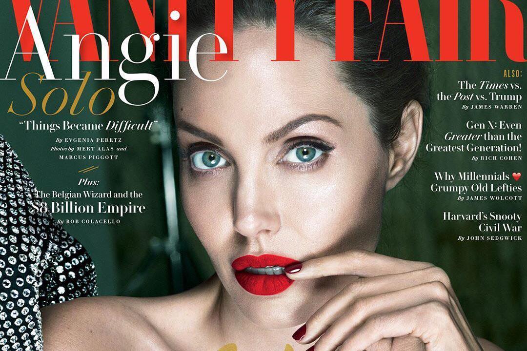 Angelina Jolie é a capa de Setembro da Vanity Fair
