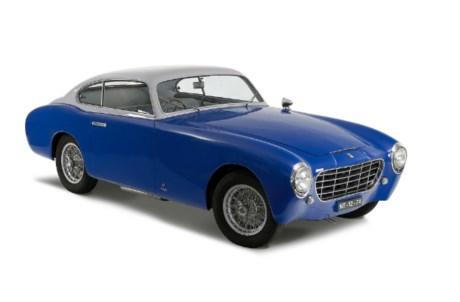 O exemplar mais antigo é um Ferrari 195 Inter de 1951
