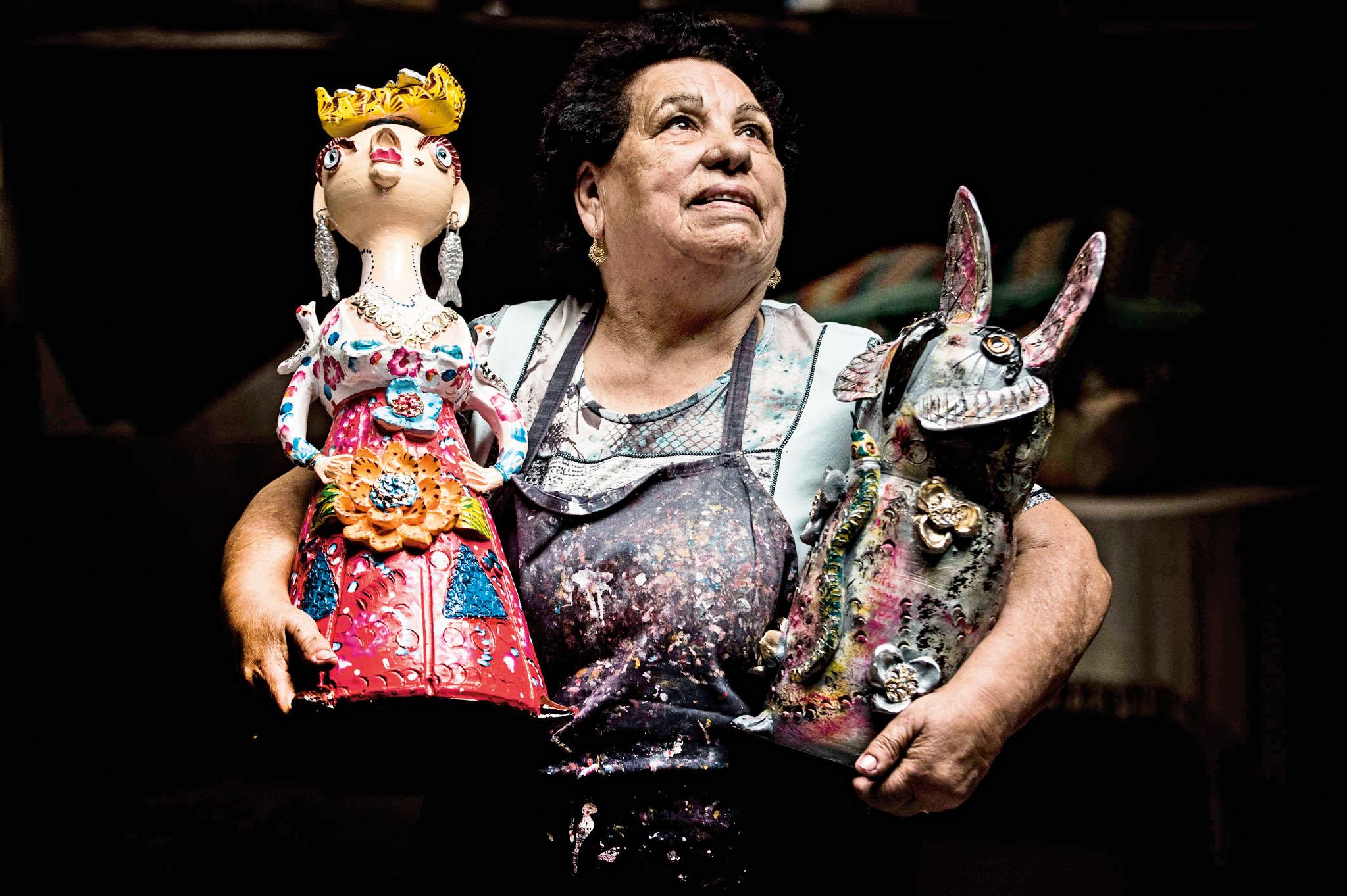 Júlia Côta,artesão do figurado