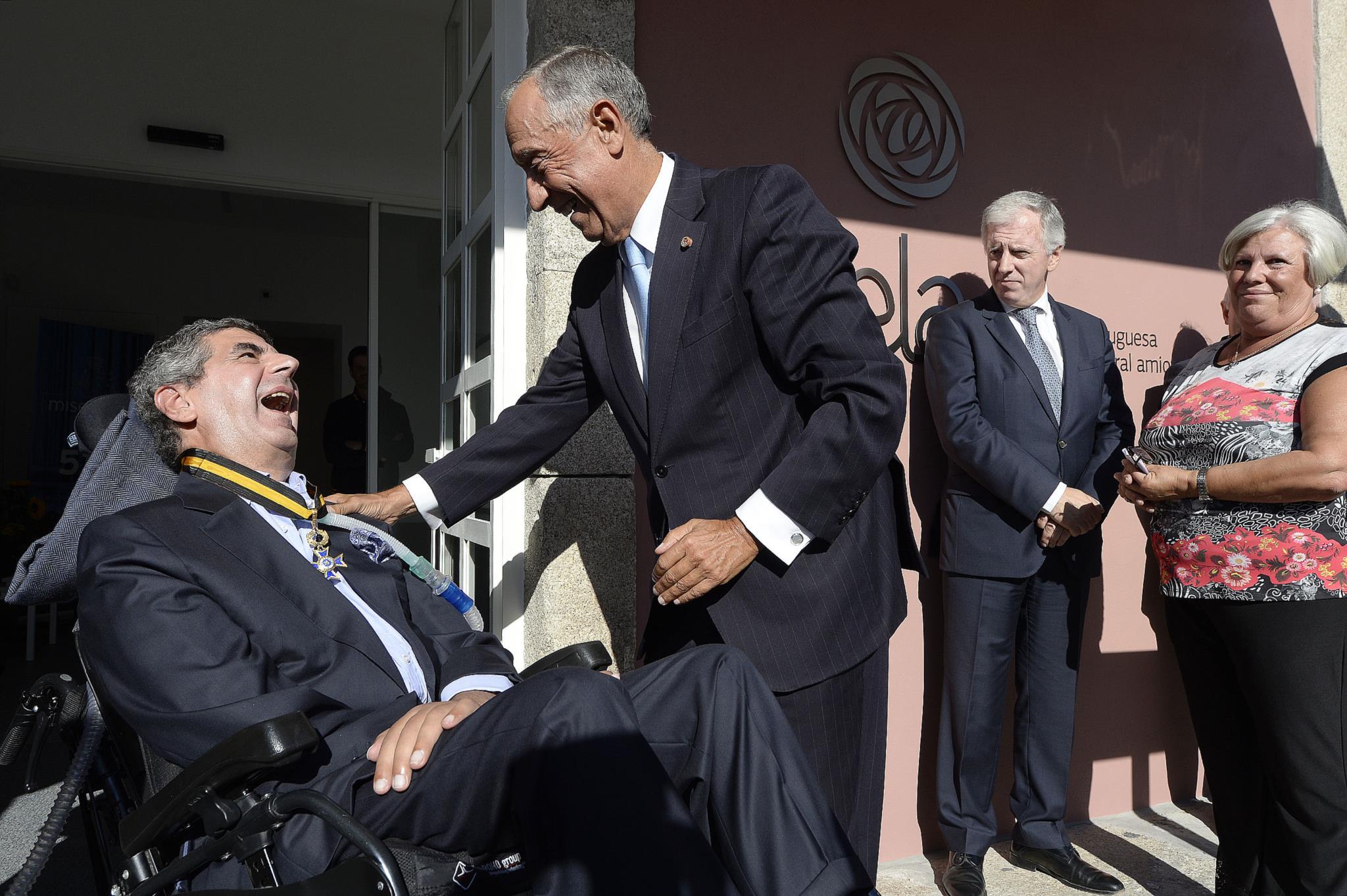 Salvador Guedes foi condecorado por Marcelo Rebelo de Sousa com a Ordem de Mérito