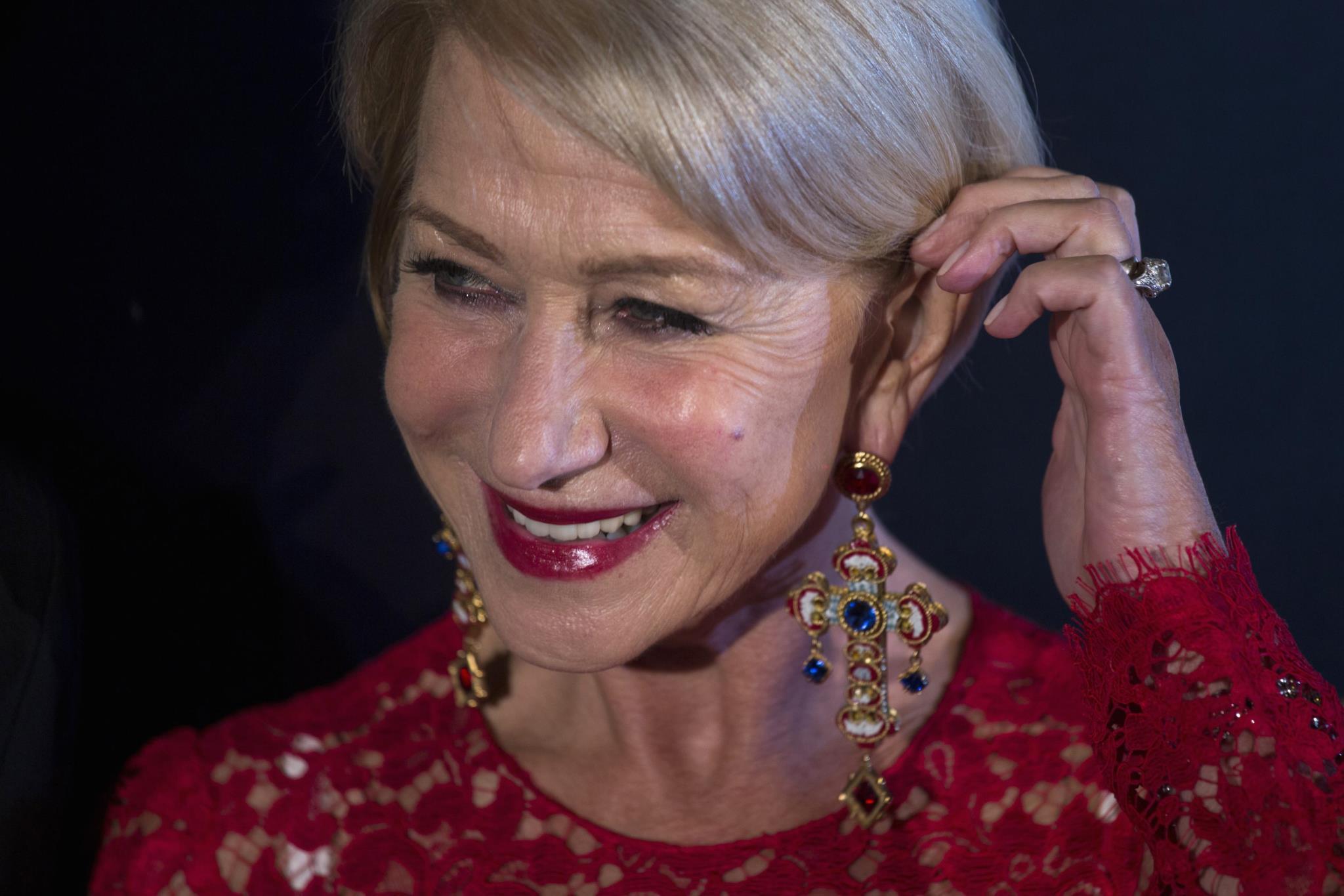 Helen Mirren diz que cremes hidratantes são inúteis