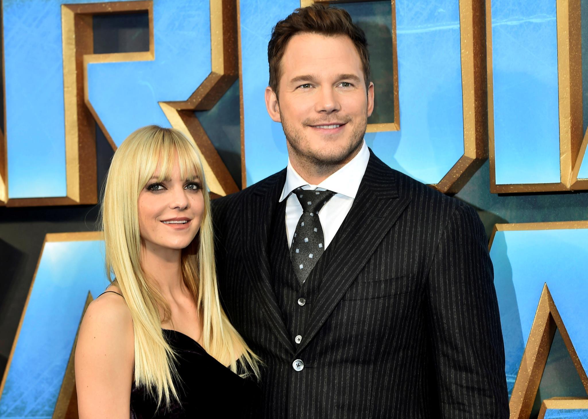 Chris Pratt e Anna Faris anunciam separação após oito anos de casamento