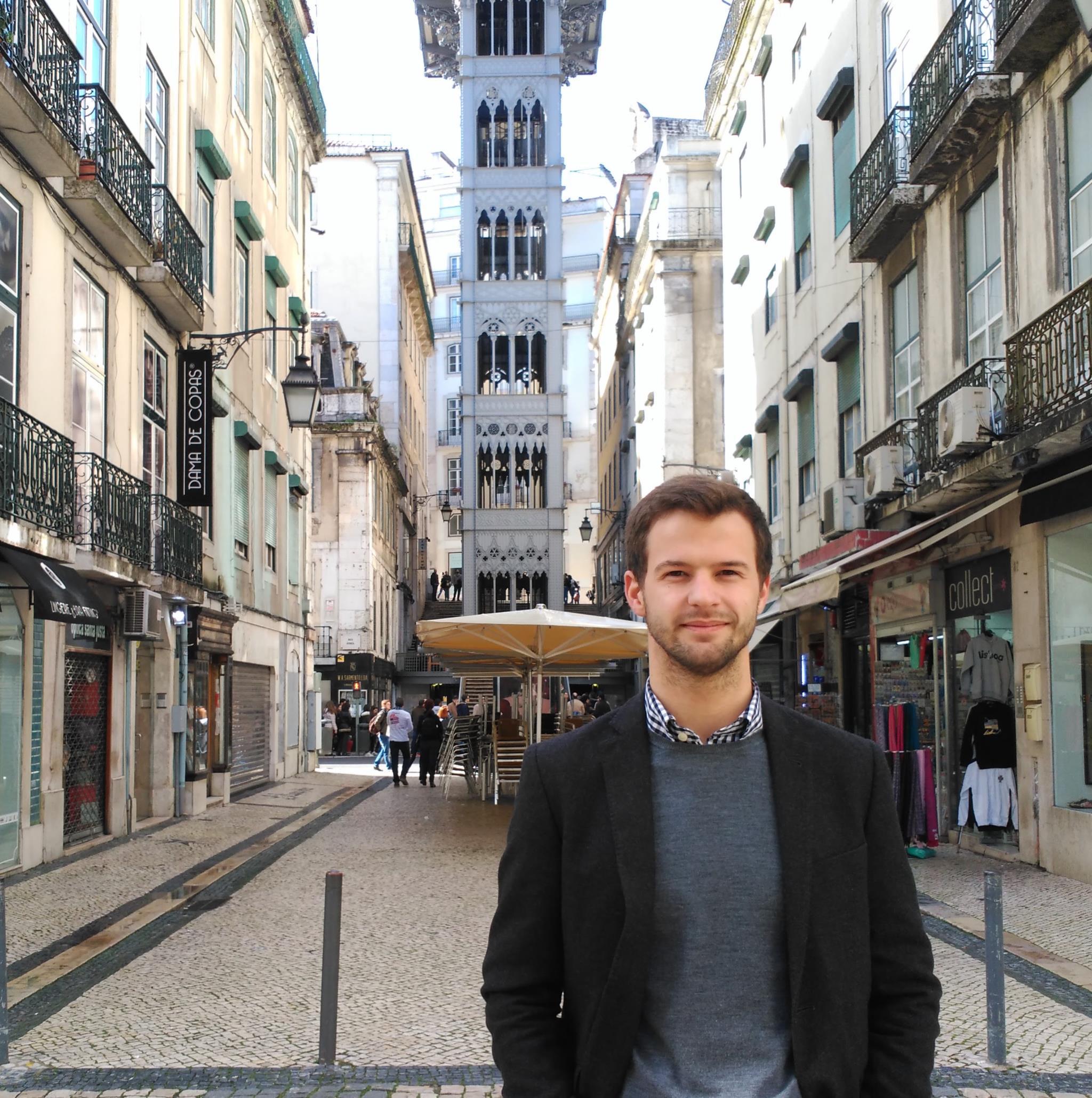 Gonçalo Azevedo Silva fotografado em Lisboa
