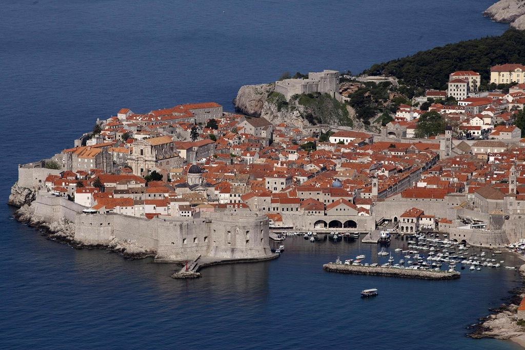 """A cidade croata é considerada como """"a pérola do Adriático"""""""