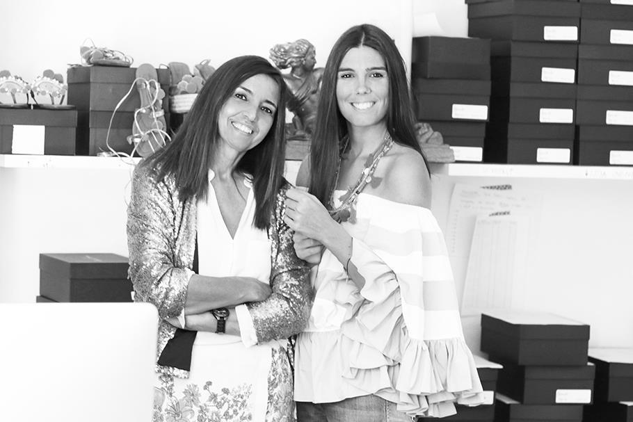 Ana Domingues e Carolina Santos, as criadoras da Alameda Turquesa, são mãe e filha