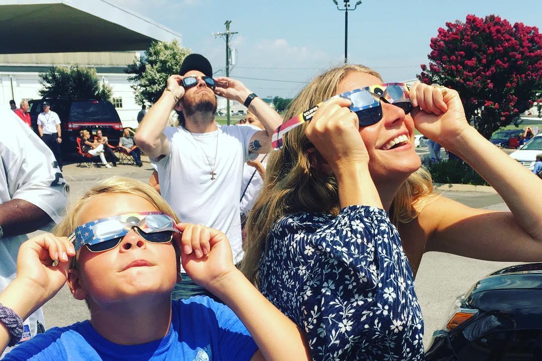 O eclipse visto pelas celebridades
