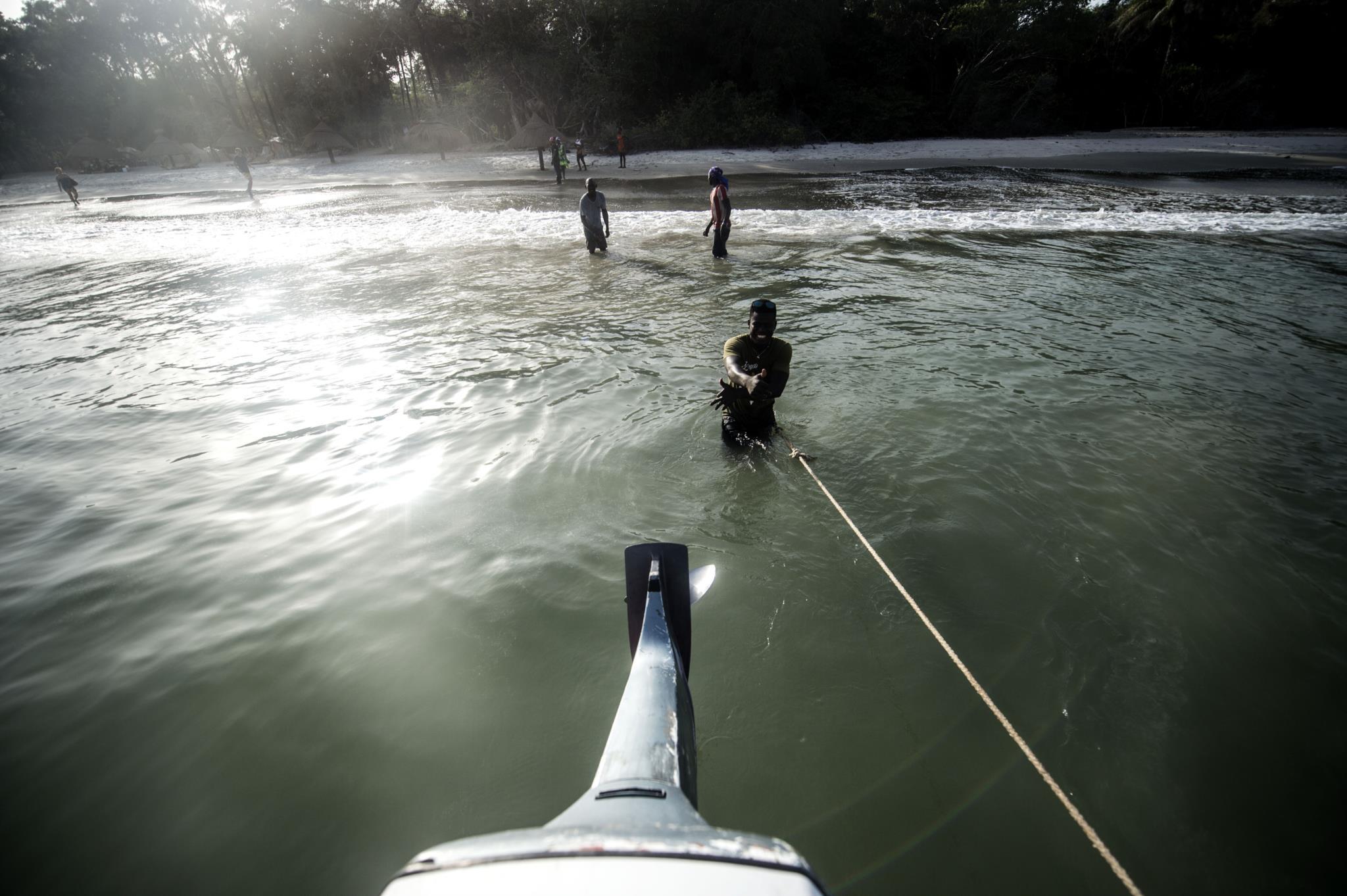 Praia de Bruce, ilha de Bubaque