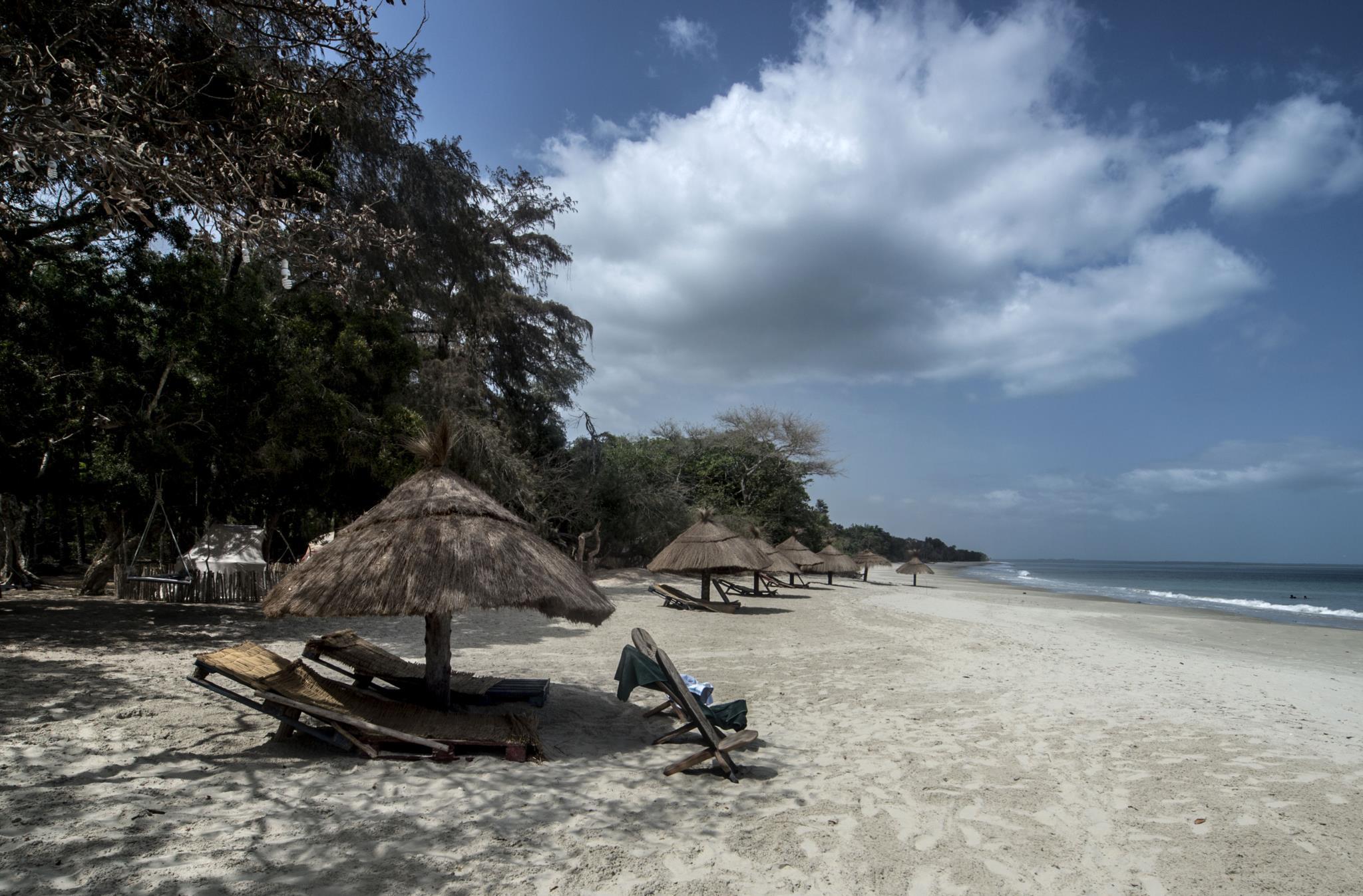 Dakosta Island Beach Camp, praia de Bruce, ilha de Bubaque