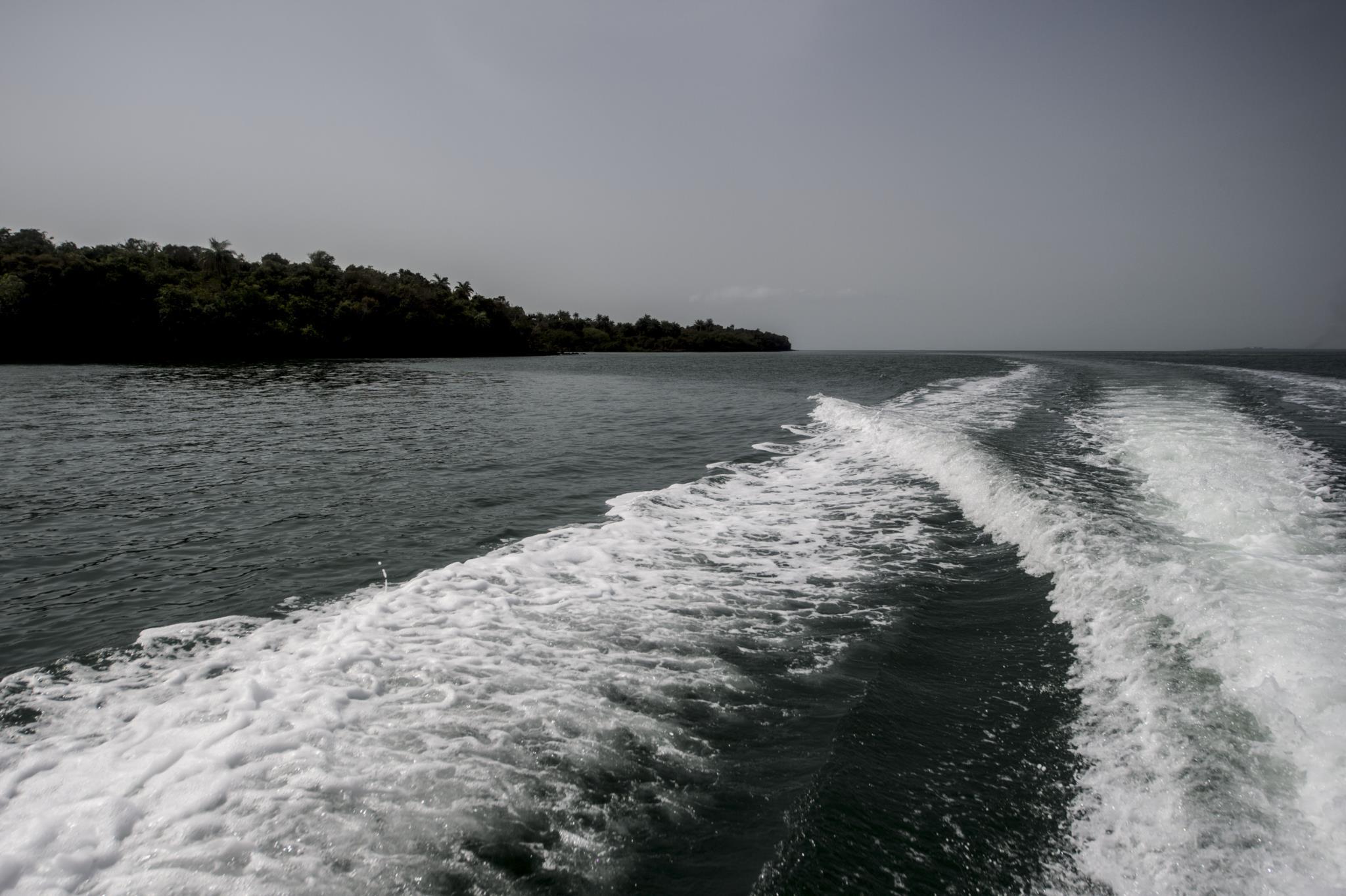 Ao largo da ilha de Rubane