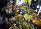 Em Banguecoque come-se de tudo a todas as horas