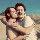 Pau Rodríguez e Eduard Pou (da banda catalã Za!) estão presentes para um concerto e um