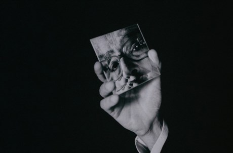 José Saramago por Daniel Mordzinski