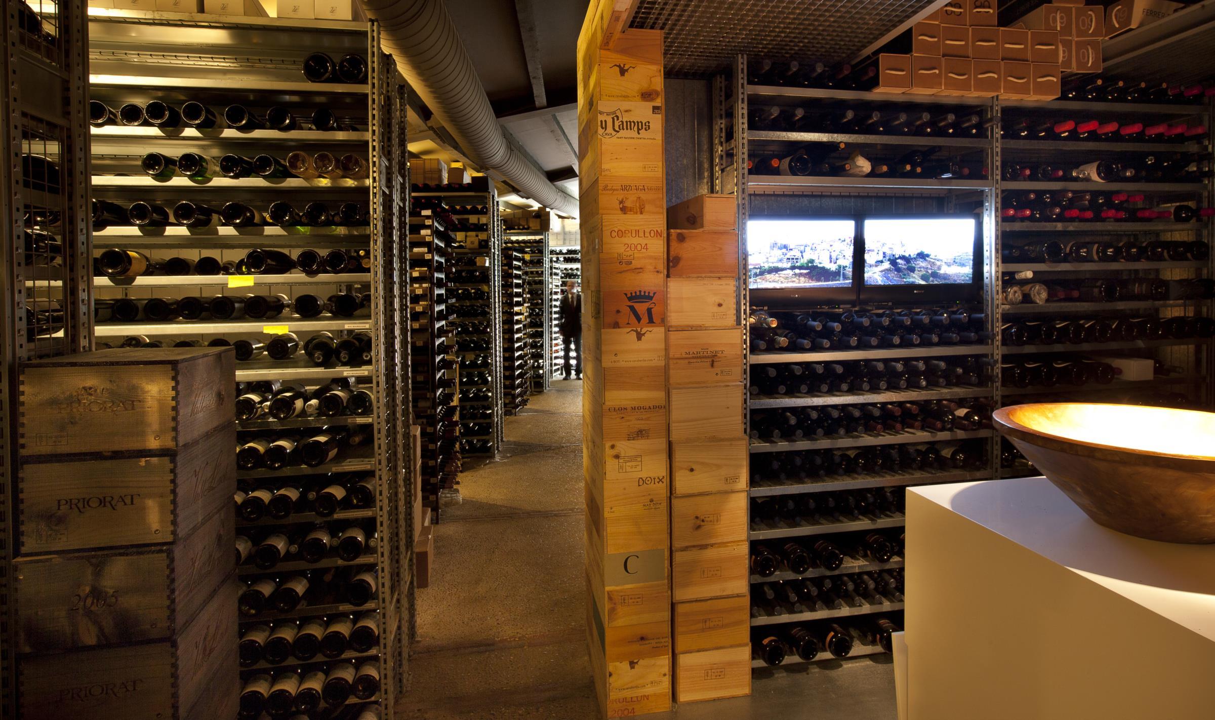 A garrafeira de Josep Roca tem mais de 3000 referências