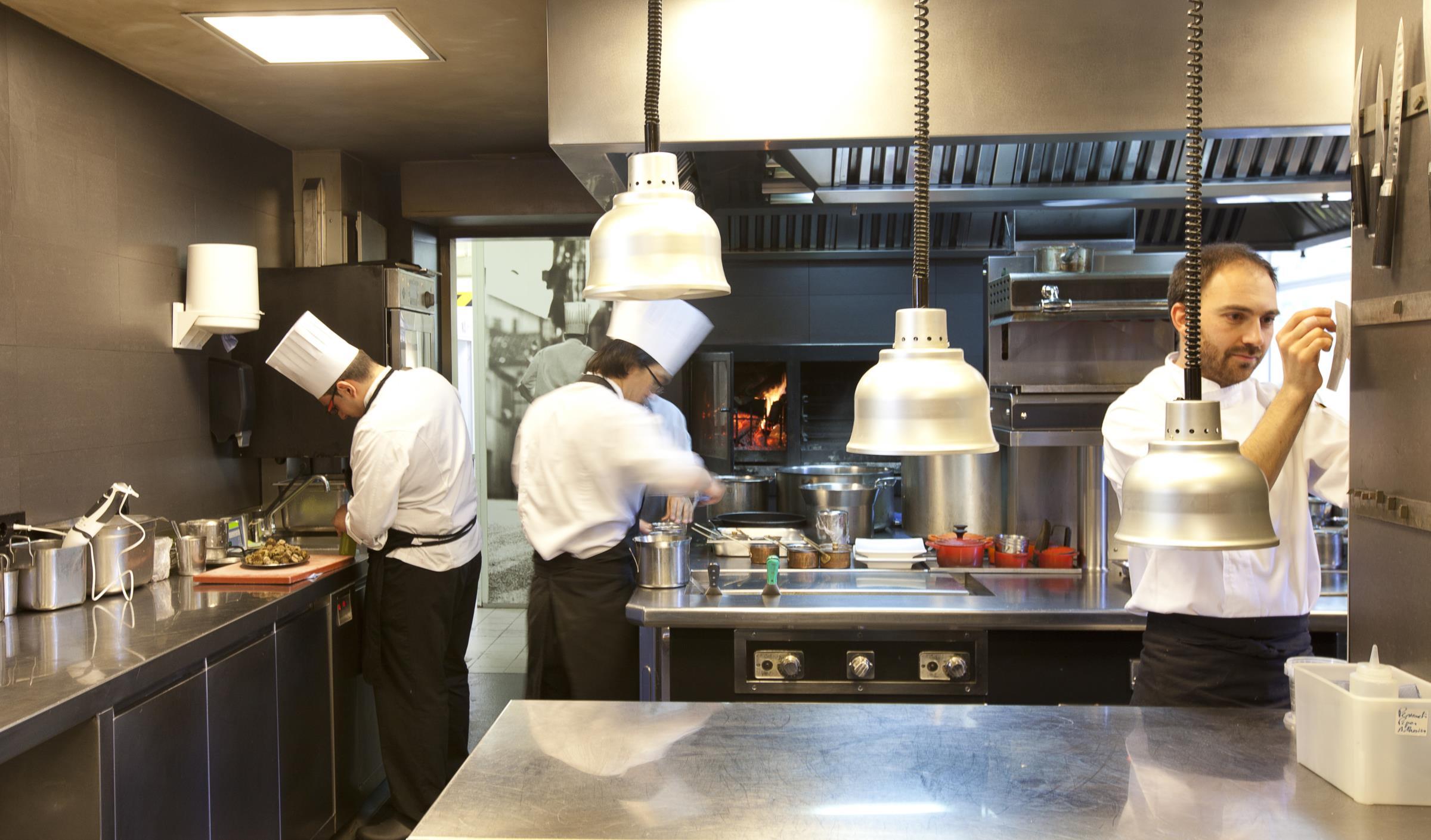 Cozinha do Celler de Can Roca