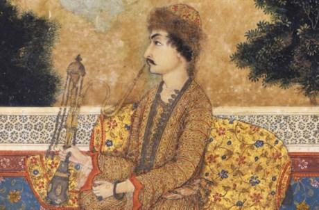 Miniatura. Índia, século XVII. Pintura a guache sobre papel. Museu Calouste Gulbenkian – Colecção do Fundador