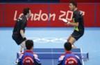 João Monteiro e Tiago Apolónia em acção nos Jogos de Londres