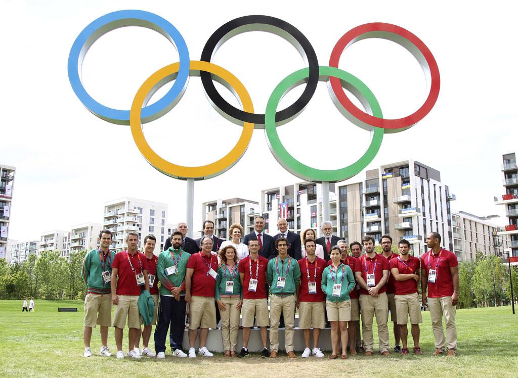 """<p>""""Ao tornarem-se vice-campeões olímpicos nesta prova, confirmam o alto nível desportivo alcançado""""</p>"""