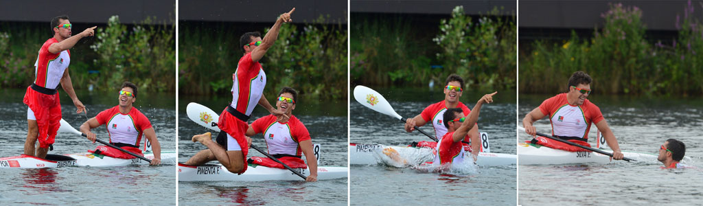 """<p>""""Este é um momento histórico para o desporto nacional e para a canoagem em especial"""", disse o presidente da federação</p>"""