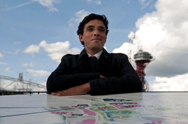 <p>Mário Santos, chefe da missão olímpica Londres 2012 e presidente da Federação Portuguesa de Canoagem</p>