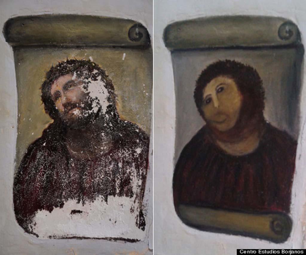 Ainda não é possível saber se a obra poderá ser completamente restaurada