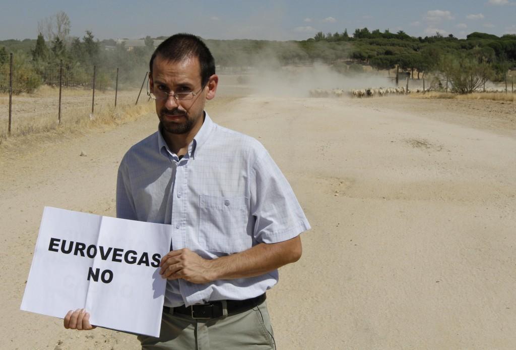 <p>O Eurovegas, de Madrid, tem sido contestado</p>