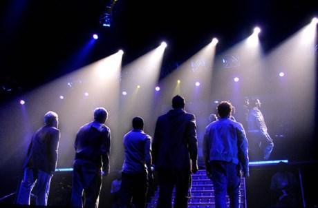 Concerto dos Backstreet Boys em Lisboa, em 2005
