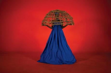 Trabalho da artista angolana Keyezua, representada pela galeria Movart (Luanda)