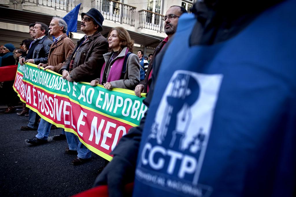 Concentração da CGTP será reforçada por movimentos cívicos