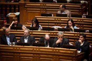 Deputados na Assembleia da República