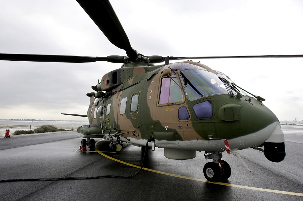 O contrato de manutenção dos EH-101 é a única operação que a DGAIED tem mandato para decidir no próximo ano