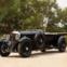 """1931 Bentley 8-Litre Tourer. Este exemplar, o 11º a ser completado, estreou-se em Singapura, com o empresário Eu Tong Sem aos comandos (graças ao qual ficou conhecido por """"berlina do harém"""")."""