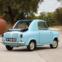 1959 Vespa 400. O microcarro. A Piaggio, famosa pela sua icónica scooter, lançou o microcarro 400 no Mónaco, em 1957, obtendo uma resposta entusiástica.