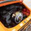 1973 Porsche 911 Carrera RS 2.7 Touring. O especial. Um dos cinco exemplares entregues por encomenda especial em Signal Orange com interior em couro preto.
