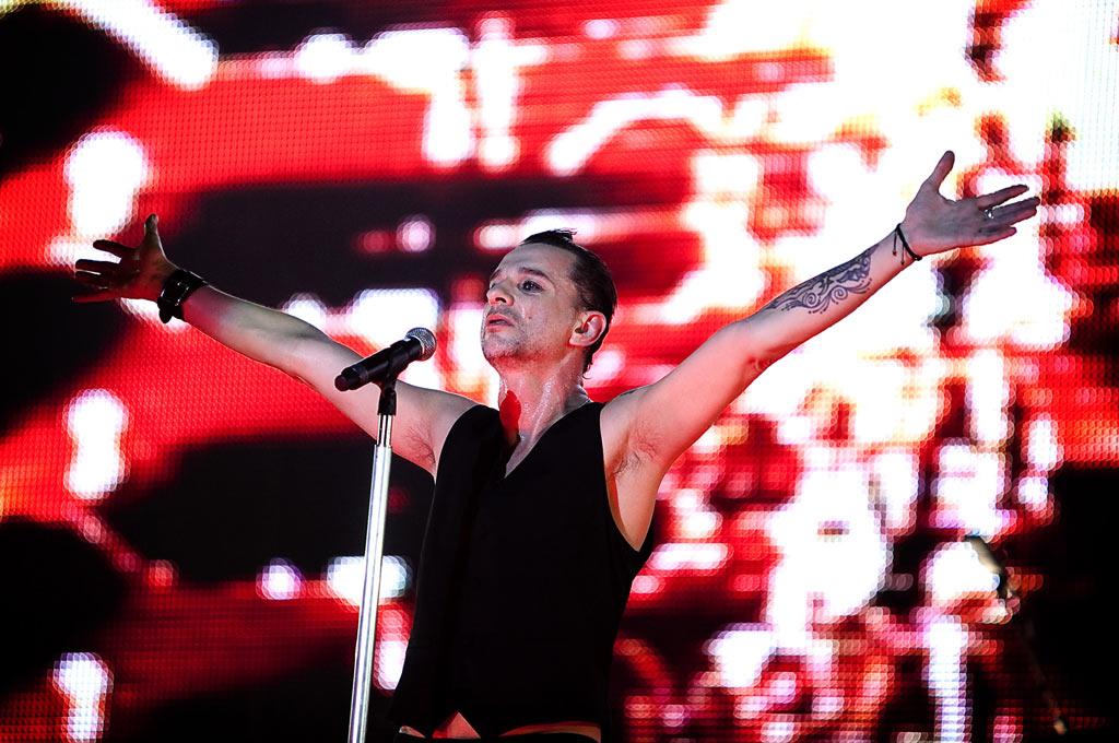 Os Depeche Mode actuam no dia 13 de Julho