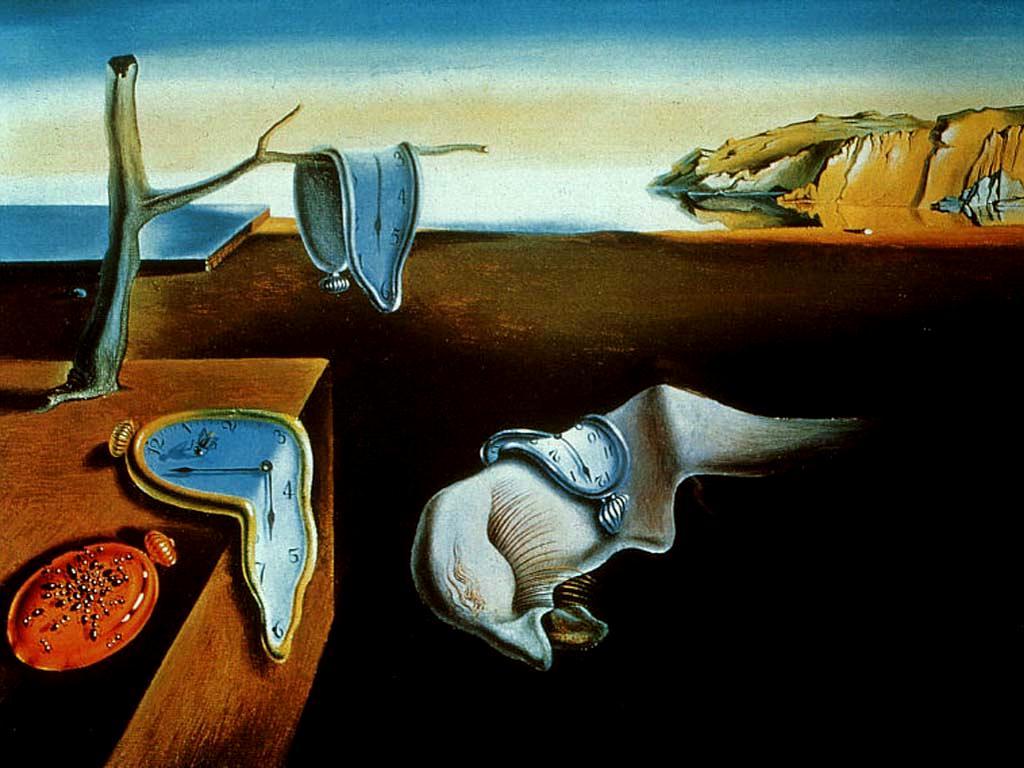 <i>A Persistência da Memória</i>, de Salvador Dalí, 1931