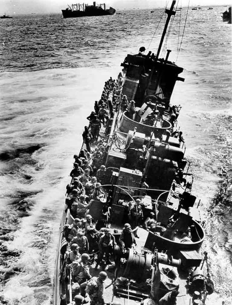 As forças aliadas usaram pombos-correios para informar os generais britânicos em Inglaterra dos desenvolvimentos do Dia D