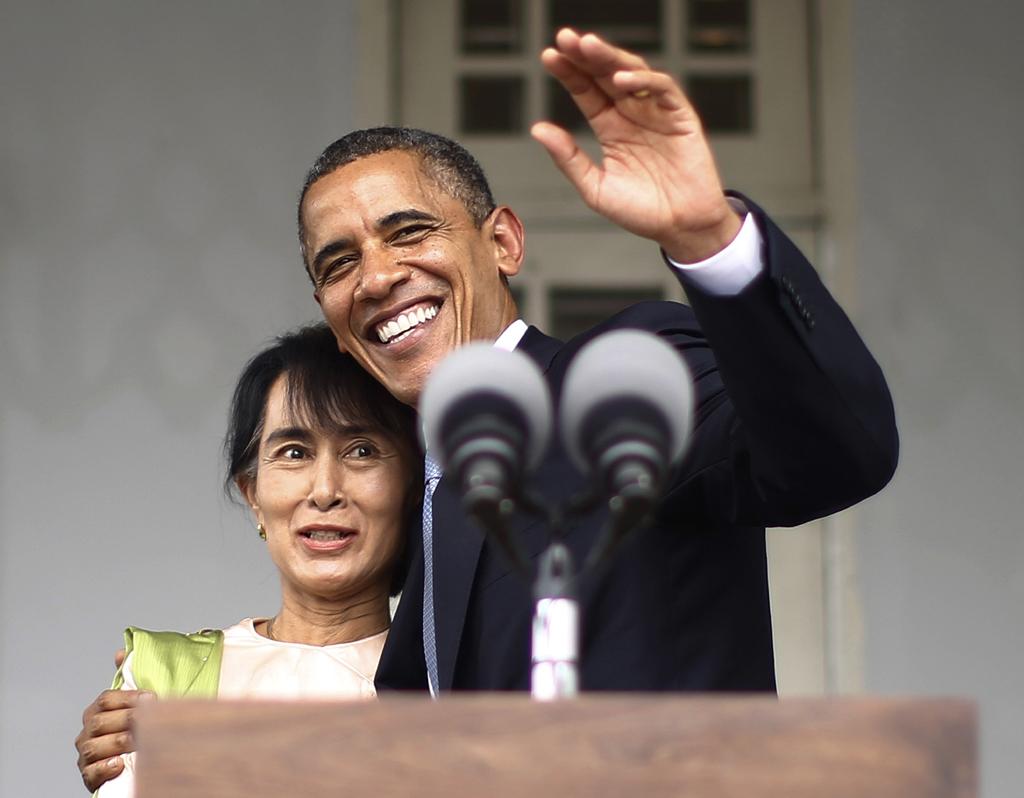 Suu Kyi agradeceu o apoio dos EUA