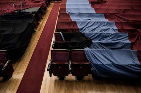 Plateia vazia (Teatro Nacional São João, Porto)