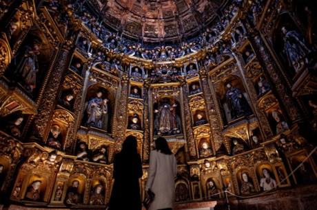 Mosteiro de Alcobaça - Interior da Capela Relicario