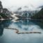 Lago Di Braies, Itália