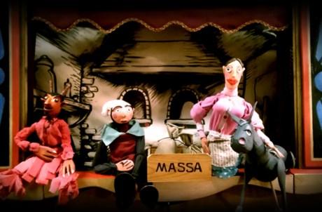 O Pão Que o Diabo Amassou, Marionetas Rui Sousa