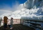 As Cataratas do Niágara voltaram a congelar (e o fenómeno é cada vez mais frequente)