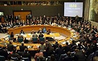 <p>Para o Iraque, as informações dadas por Powell destinam-se a justificar uma agressão contra o país</p>